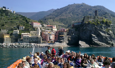 Cinque Terre Town Hopping Ferry