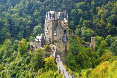 Entry to the Eltz Castle