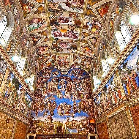 Sistine Chapel Entry