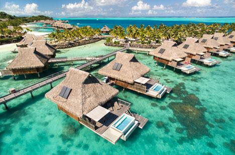 Contribution towards overwater bungalow on Bora Bora