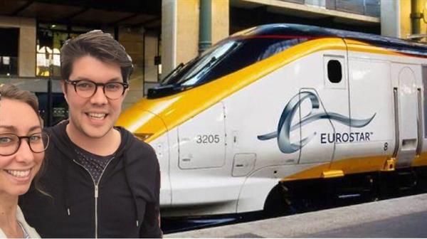 Return ticket on the Eurostar