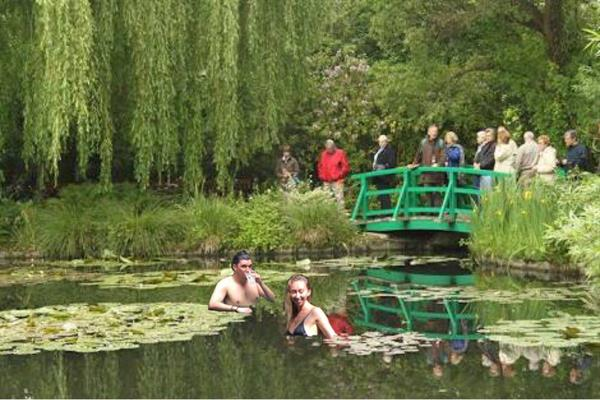 Admissions and Lunch at Claude Monet's Garden