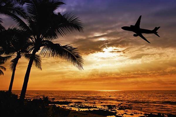 Flight tickets to Paradise