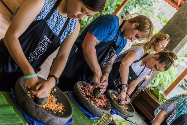 Balinese/Indonesian cooking class