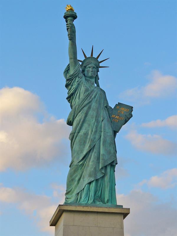 Climb the statue of liberty