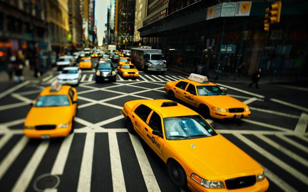 Cab rides in NYC!