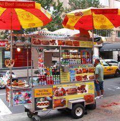 Street side hot dogs