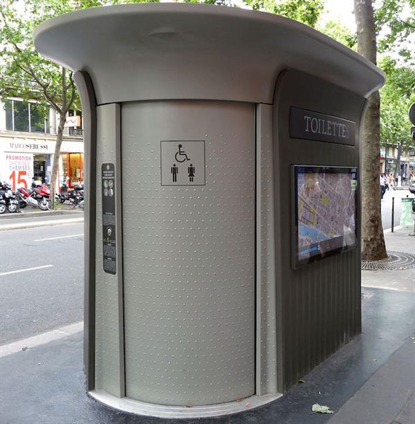 Public Toilet Entry Fee