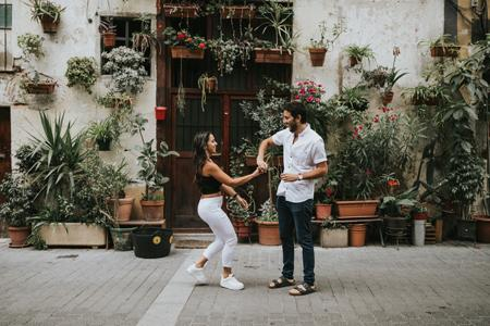 Honeymoon travelshoot