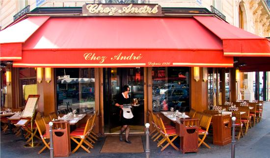 Diner at Chez Andre