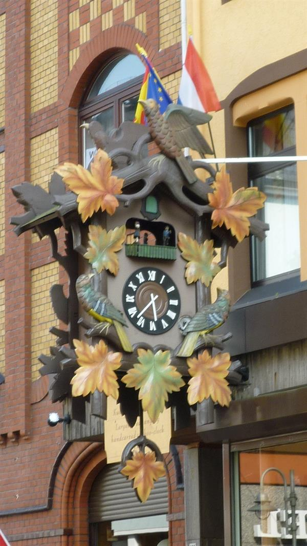 Cuckoo clocks and beer steins!