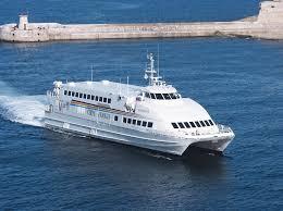 Ferry across the Mediterranean