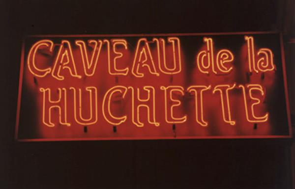 Friday night Jazz at Caveau de la Huchette