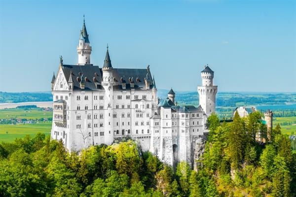 Neuschwanstein Castle and Hohenschwangau Castle
