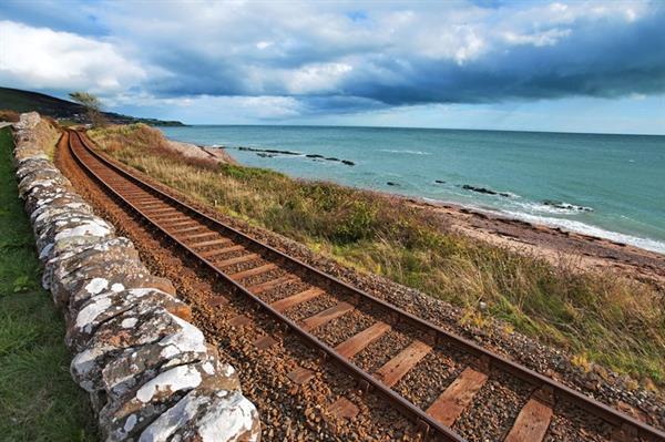 Train ride to Scotland