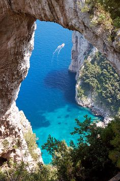 Capri sail boat tour