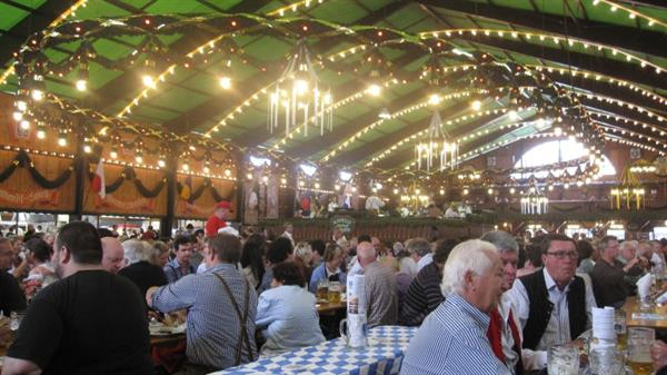 Munich Beer Hall Visit