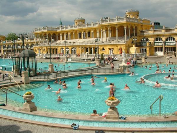 Szechenyi Bath Visit