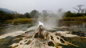 Walk to the Semuliki National Park Hot Springs