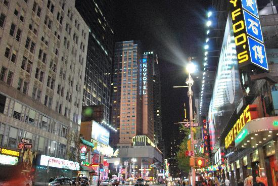 Accommodation in Times Square