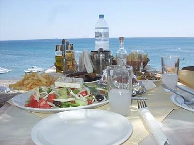 Lunch at a Greek Taverna