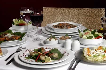 Dinner at Asitane fine ottoman cuisine
