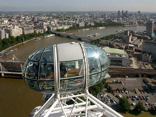 A ticket on the London Eye