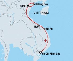 9 day Tour of Vietnam with Intrepid