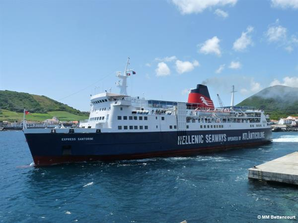 Ferry from Pico Island to Faial Island