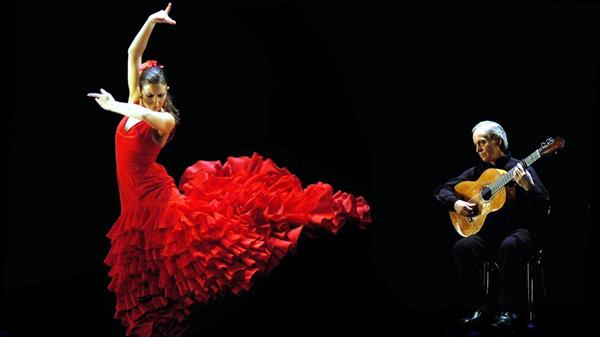 Flamenco show in Spain