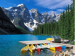 Entry to Banff National Park