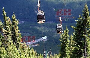 Gondola ride to the Summit of Sulphur Mountain