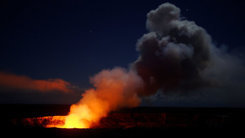 Helicopter Volcano Adventure