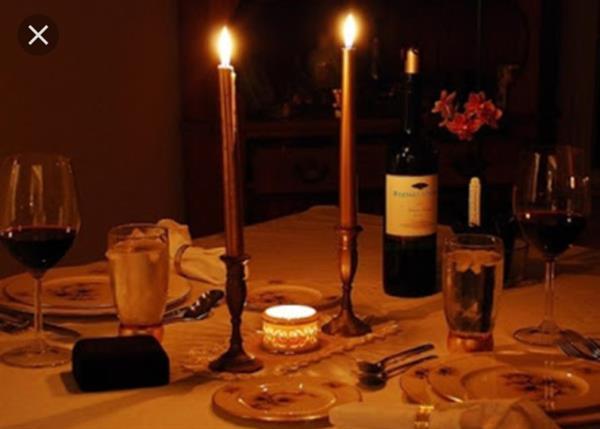 Romantic dinner / Jantar romântico / Cena romantica