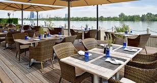 Lunch by the Danube riverfront