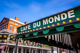 Breakfast at the famous Cafe Du Monde