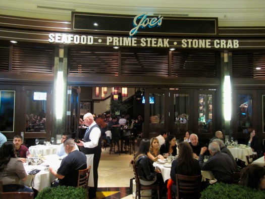 Dinner for two at Joe's Seafood, Prime Steak & Stone Crab
