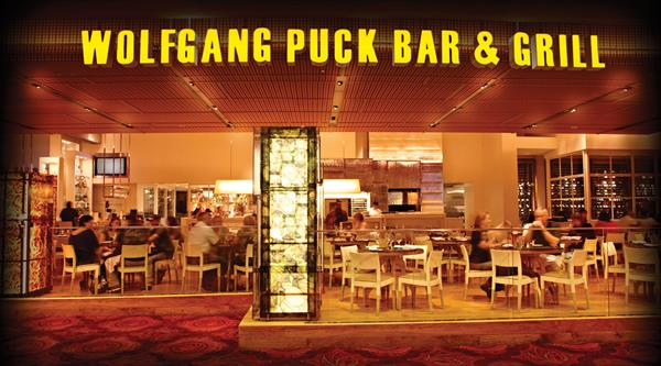 Lunch for two at Wolfgang Puck Bar & Grill