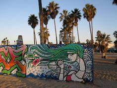 Street Art Tour in Santa Monica via bicycle