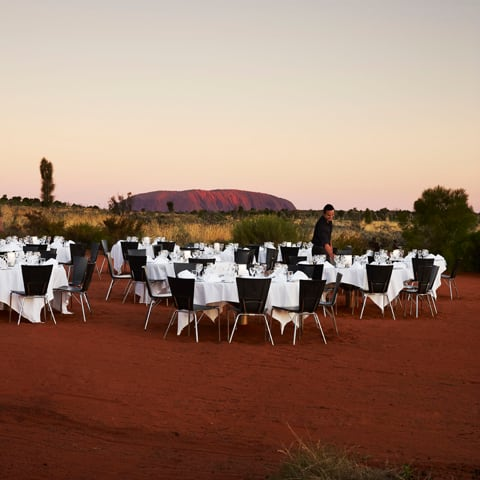 Sound of Silence Dinner for two Uluru - NT