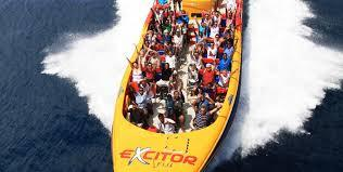 Excitor Fiji boat adventure ride