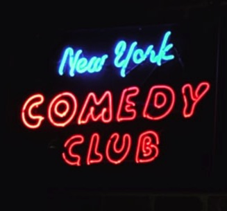 Tickets to a stand up comedy show