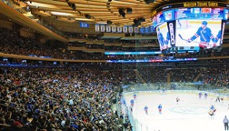 Madison Square Garden Ice Hockey or Basketball Tickets