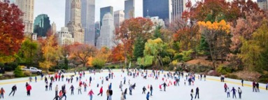 Wollman Rink Central Park. Family ice skating tickets and rental of gear.