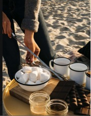 San Diego Bonfire - Night on the bay with hot chocolate and marshmallows