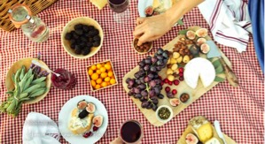 Santa Barbara Markets - supplies for a picnic in the park
