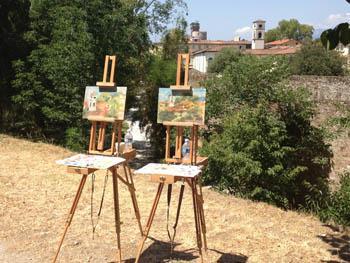 Art classes in Tuscany