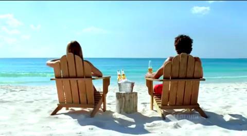 Coronas on the Beach