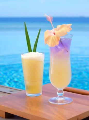 Cocktails at Malamala Beach Club