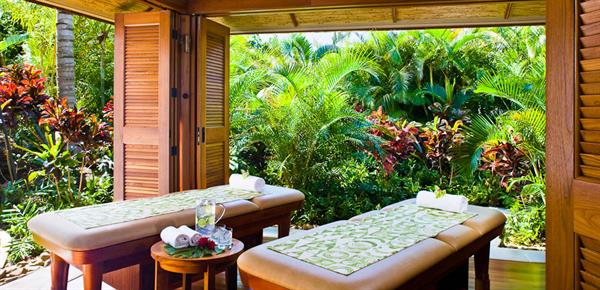 Couples spa massage in Kauai